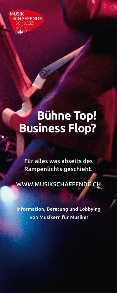 Musikschaffende Schweiz – Roll-Up