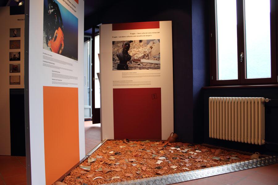 """Ausstellung """"Kulturgüterschutz"""" – Zollmuseum"""