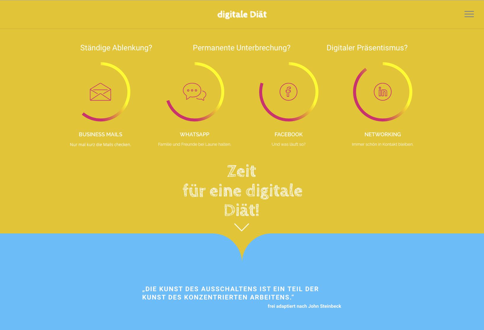 Website digital-diet.ch