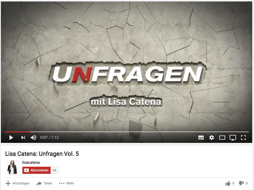 Video Intro/Outro für UNFRAGEN